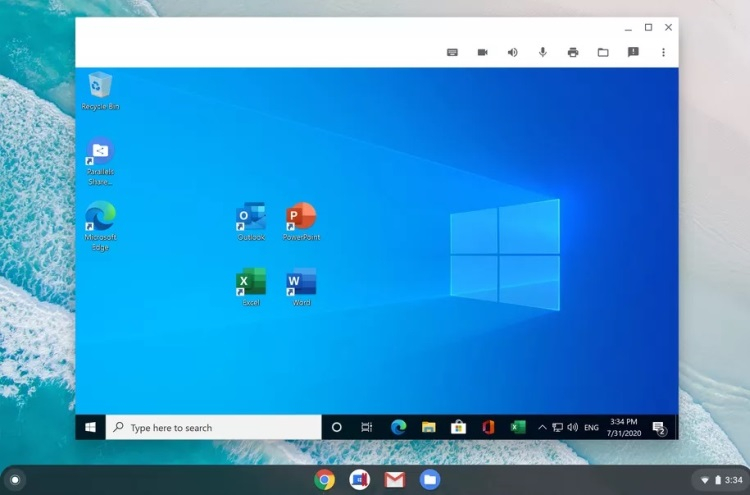 Windows теперь можно запускать на Chromebook с помощью Parallels Desktop